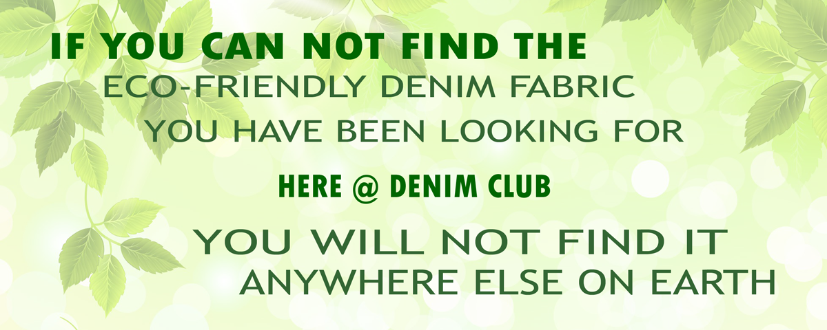 Denim Club India - Your One Stop Shop for Eco-friendly Hand-woven Selvedge Denim Fabric